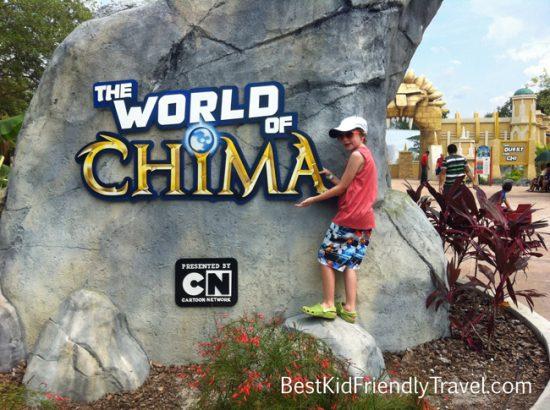 World of Chima at LEGOLAND Florida from BestKidFriendlyTravel.com