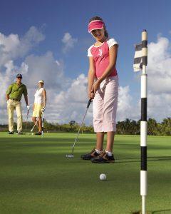 Kids Golf Academy at Four Seasons Mauritius at Anahita