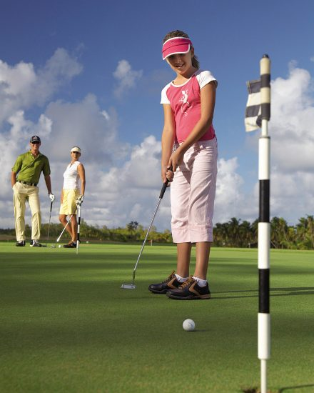 Kids Golf Academy at Four Seasons Mauritius at Anahita