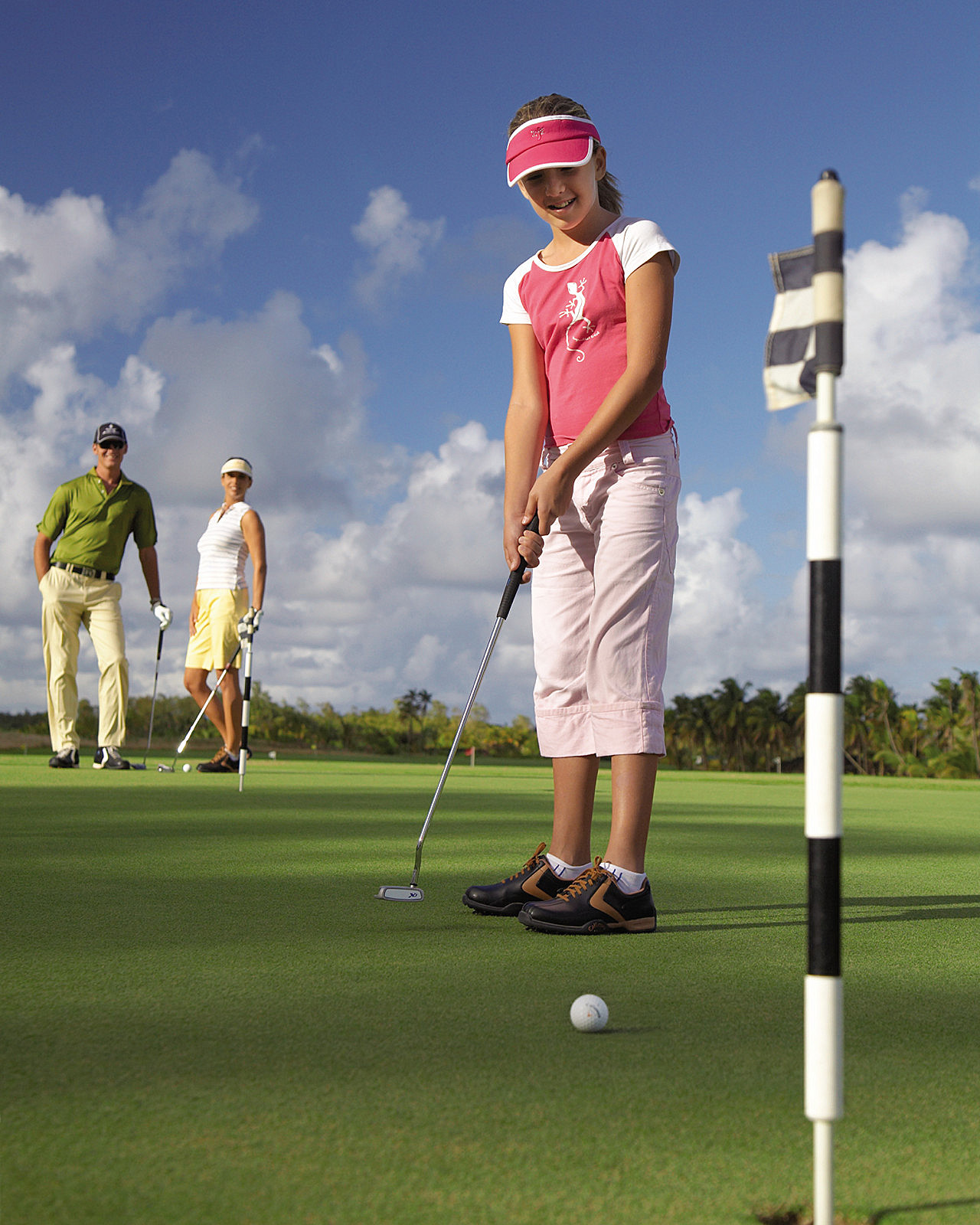 Kids Golf Academy at Four Seasons Mauritius