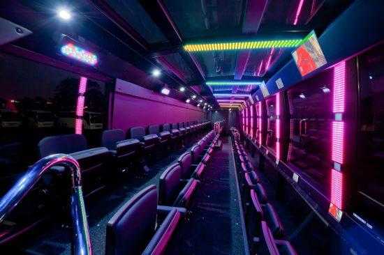 The Ride Vehicle Interiors