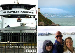 Ferry ride on Alcatraz Cruises