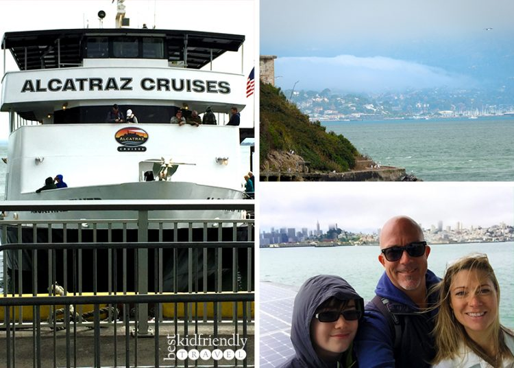 Ferry ride on Alcatraz Cruises
