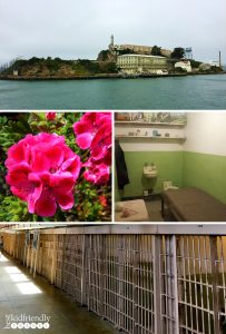 Photo collage of Alcatraz Island by BestKidFriendlyTravel,com