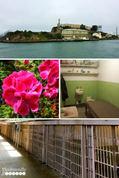 Photo collage of Alcatraz Island by BestKidFriendlyTravel,com