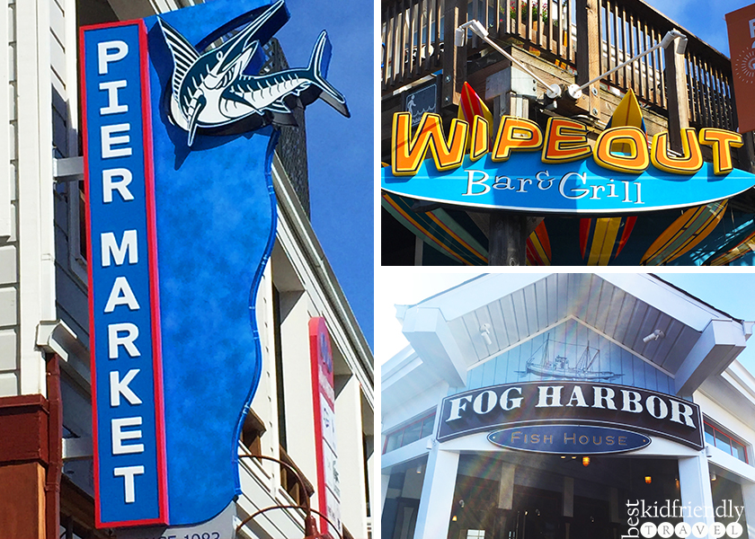 3 Kid Friendly Restaurants On Pier 39 At Fisherman S Wharf In San Francisco California