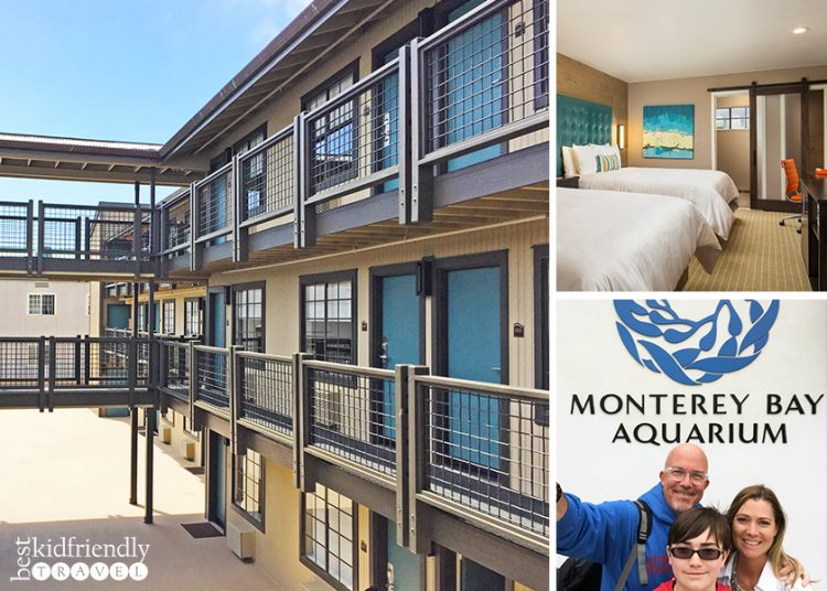 Kid Friendly Hotel, Wave Street Inn is just 4 blocks from Monterey Bay Aquarium