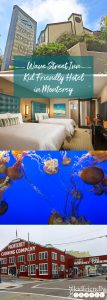 Wave Street Inn, great kid-friendly hotel in Monterey, CA